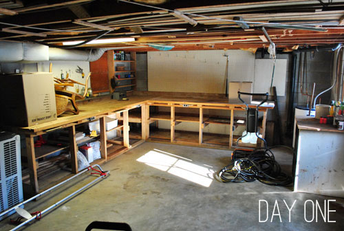 Adding Some Basement Workshop Organization Young House Love