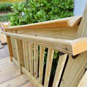 Installing Deck Stairs & Railings