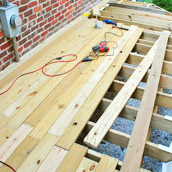 Laying Deck Boards