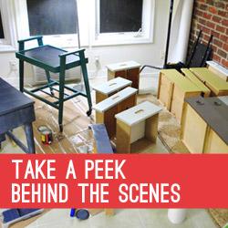 Take A Peek Behind The Scenes