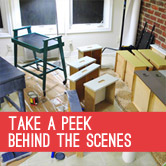 Take A Peek Behind The Scenes