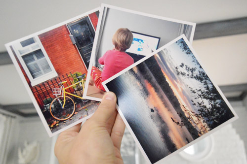 Making Easy Instagram Photo Frames With Jewel Cases | Young House Love