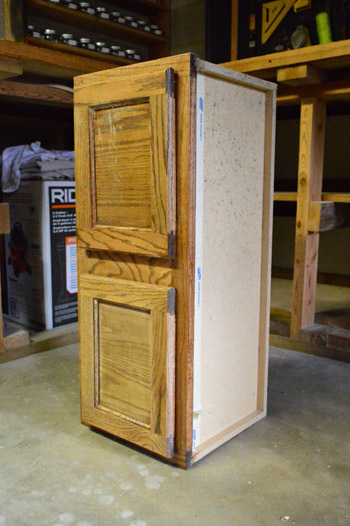 Making A Play Refrigerator From An Old Cabinet | Young House Love