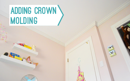 How To Install Crown Molding Yourself | Young House Love