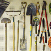Organizing Outdoor Tools