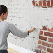 Painting Brick Sans Primer