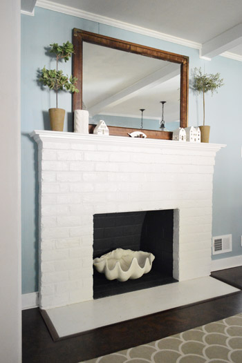 Fireplace Makeover: Planning & Buying Materials | Young House Love