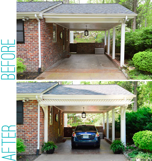 Image Result For Carport Under Modern House: Building A Garage Or Carport Pergola