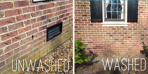 Using A Power Washer To Clean Wood, Brick, And Cement | Young House Love
