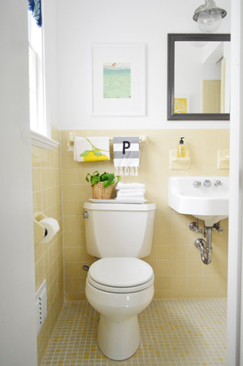 Source list aka where we got stuff young house love for Bathroom ideas yellow tile