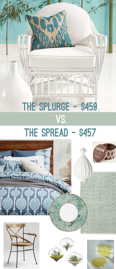 The Spread Amp The Splurge Young House Love