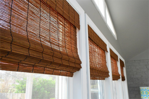Its Gettin Hot In Hur So Add Some Bamboo Blinds Young
