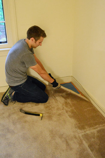 How To Remove Carpet Video Photos Young House Love