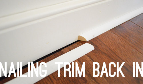 Twelve Time Consuming Tasks When Installing Hardwoods Young House Love