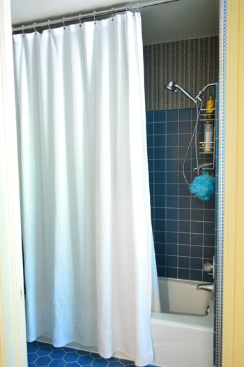 Shower Tub Curtain how to remove an old sliding shower door | young house love