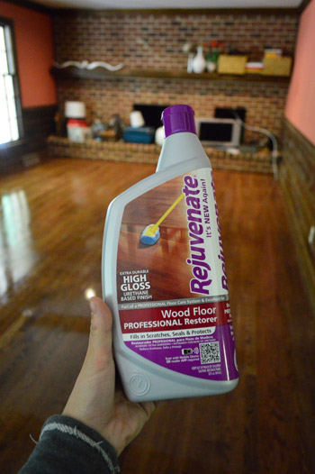 Hardwood Floor Wax how to clean gloss up and seal dull old hardwood floors It Came In Satin And High Gloss But I Chose High Gloss Since The Floors Upstairs Are Nice And Shiny Which We Like