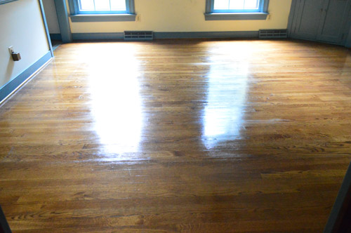 how to clean, gloss up, and seal dull old hardwood floors | young