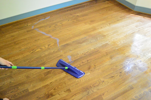 How to clean gloss up and seal dull old hardwood floors for How to clean polished floors