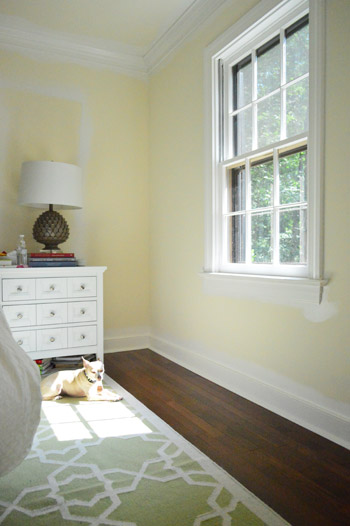 Installing White Faux Wood Window Blinds | Young House Love