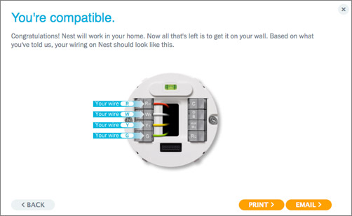Nest Youre Compatible how to install a nest learning thermostat young house love nest wiring diagrams at sewacar.co