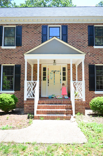 How To Pick A Color And Paint Your Front Door | Young House Love