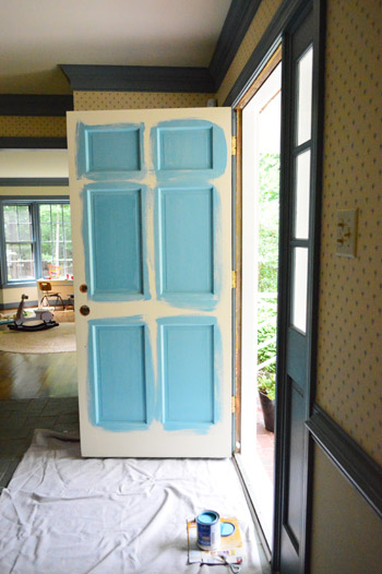 How To Pick A Color And Paint Your Front Door Young