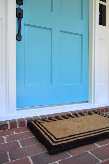 How To Pick A Color And Paint Your Front Door. U201c