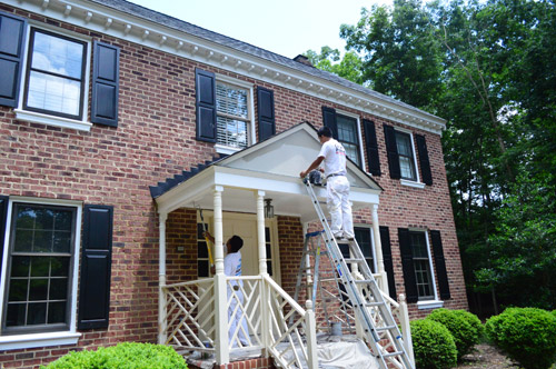 exterior house paint black picking a new siding color updating our exterior trim young