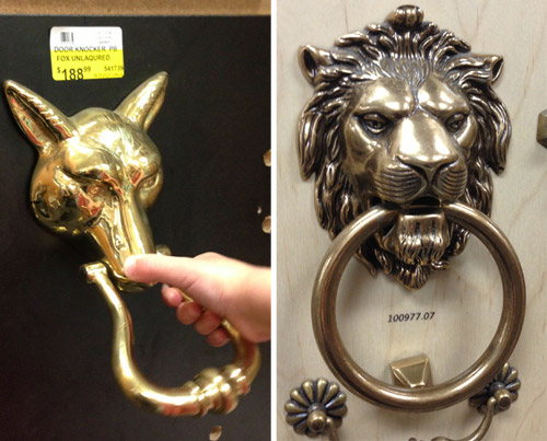 Updating A Door Knocker And A Doorbell & Updating A Door Knocker And A Doorbell | Young House Love pezcame.com