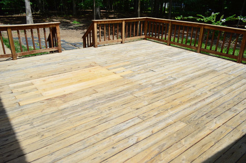 our plan now is to stain it with a semi transparent stain thats similar in color to the previous rich brown color it must have been glorious in its day - Behr Semi Transparent Stain Colors