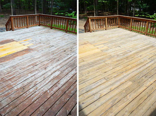 Pity, deck paint strip seems