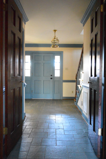 Foyer Tile Grout : Making old discolored grout look like new young house love