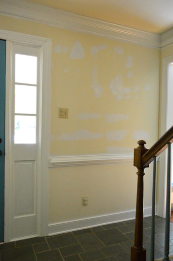 Young House Love Foyer Door : Foyer freshness a soft neutral paint color young house love