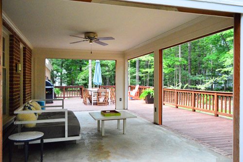 Open 39 Er Up Converting A Sunroom Into A Veranda Young