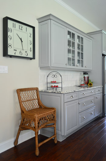 The Butlers Pantry Dry Bar Area That Connected Kitchen And Dining Room Was A Nice Transition Between Two Spaces