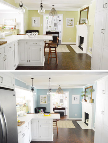 Those times we made bad painting decisions young house love for Paint choices for kitchen