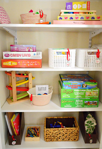 Converting An Extra Coat Closet Into Organized Toy Storage | Young House  Love