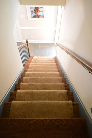 Stairs A Novelty To Ranch Owners Everywhere Young House