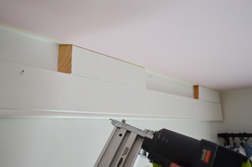 How To Add Extra Beefy Crown Molding Young House Love