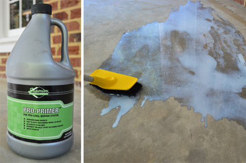 Leveling And Dry Fitting Tile In An Outdoor Area Young