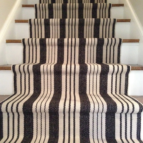 How to install a stair runner yourself young house love for Dash and albert runners