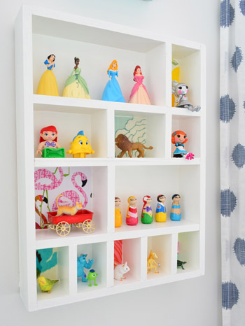 How To Make A Fun Figurine Cubby Young House Love