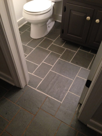 Making Old Discolored Grout Look Like New | Young House Love