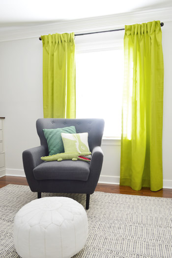 Making Pleated Curtain Panels (The Easy Way) | Young House Love