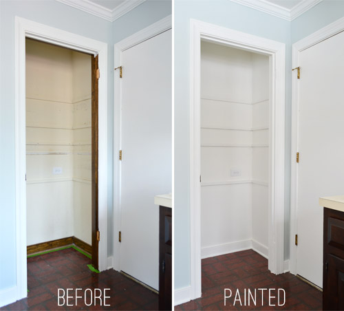 adding tons of pantry storage function young house love On what color to paint pantry walls