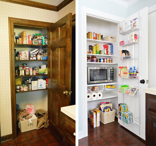 Did Anyone Else Who Got Snowed In End Up Organizing Or Re Thinking How A  Cabinet Or Closet Works For Your Family?