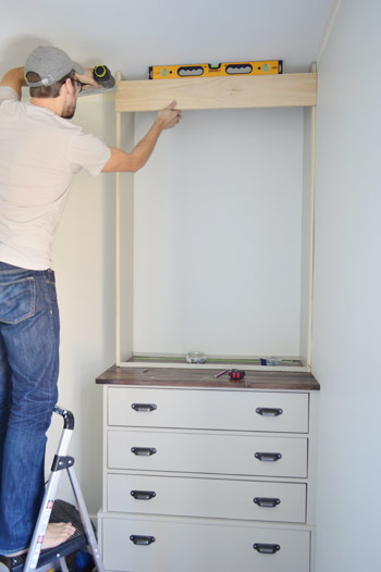 Installing Bedroom Built Ins