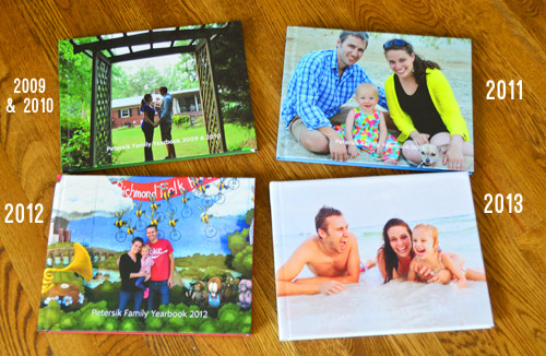Making Our Family Yearbook An Annual Photo Book Young House Love