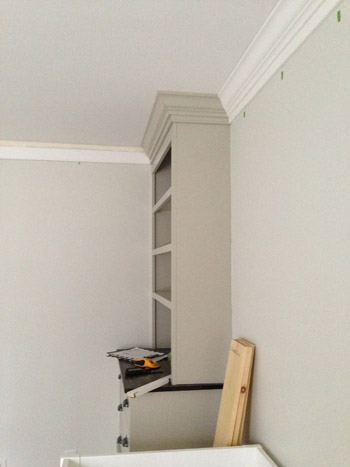 Pre Finished Crown Molding Paint Touch Up