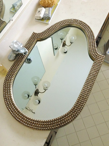 Bathroom Mirrors Home Goods hall bathroom happenings | young house love
